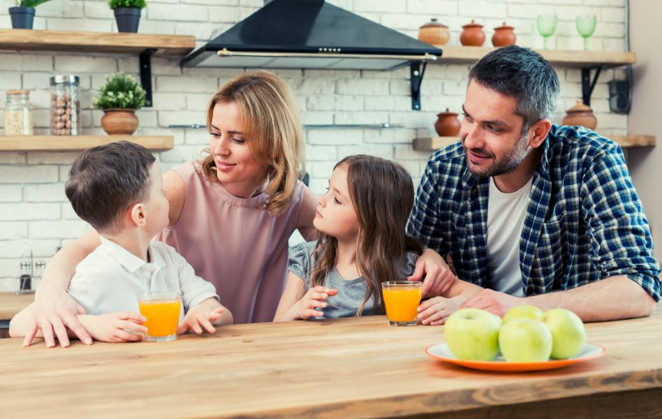 Dieta en familia